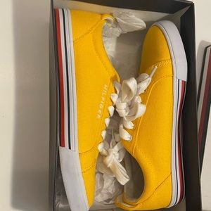 Yellow Tommy Hilfiger Sneakers
